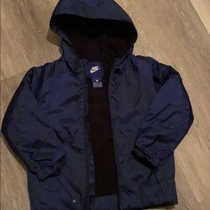 Nike boys jacket with hood